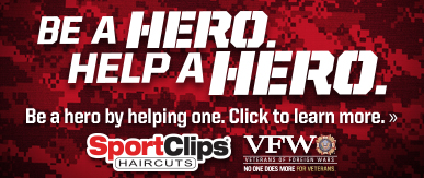 Sport Clips Haircuts of Lemmon Ave​ Help a Hero Campaign